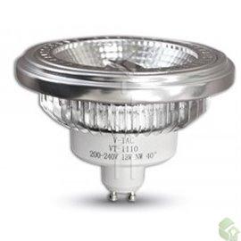 SPOT AR111 GU10 LED 15W  240V 650Lm 40º 3000K