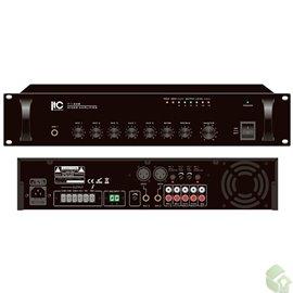 Misturador Amplificador de 120W- Saída 70V/100V 4 -16