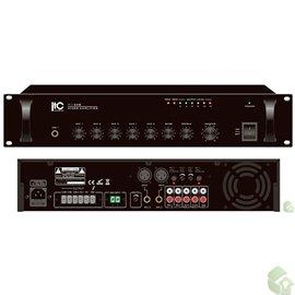 Misturador Amplificador de 350W- Saída 70V/100V 4 -16