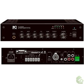 Misturador Amplificador de 40W- Saída 70V/100V 4 -16