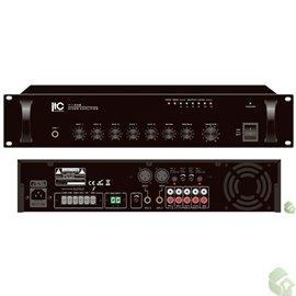 Misturador Amplificador de 550W- Saída 70V/100V 4 -16