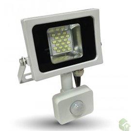 PROJETOR Slim LED 10W Exterior c/ sensor  800Lm