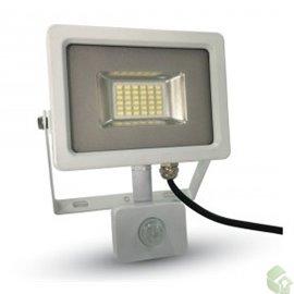 PROJETOR Slim LED 20W Exterior c/ sensor 1600Lm