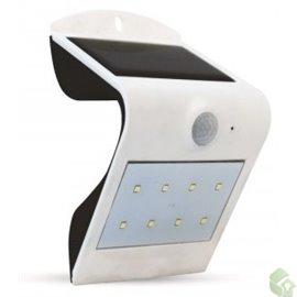 Aplique LED SOLAR c/sensor  200Lm