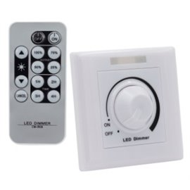 Regulador LED 1/10V com Controlo Remoto IR