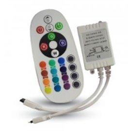 Controlo Remoto Dimmer p/ Fita Led RGB  72W