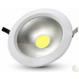 Led de Encastrar 9W Downlight   Branca Natural 220V 630Lm