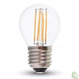 Led filamento  E27, disponível em  4W 400Lm